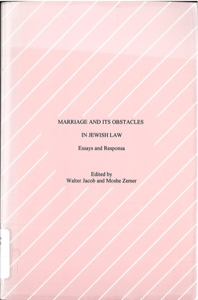 Dr Jacob Cover 12 - Marriage and Its Issues