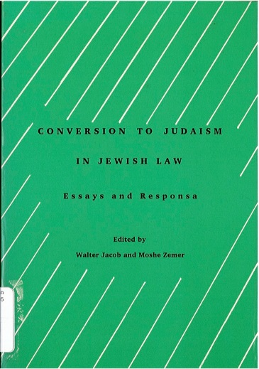 Dr Jacob Cover 16 - Conversion to Judaism