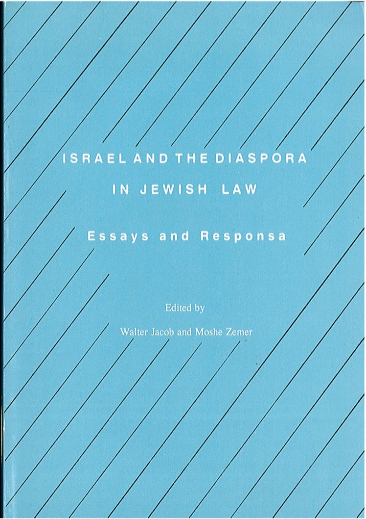 Dr Jacob Cover 3 - Israel and the Diaspora