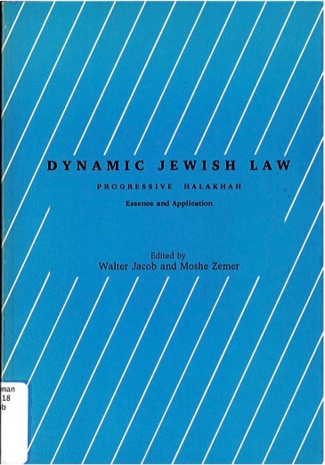 Dr Jacob Cover 7 - Dynamic Jewish Law