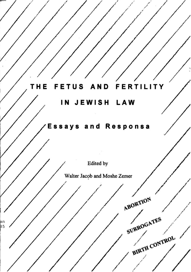 Dr Jacob Cover 9 - The Fetus and Fertility